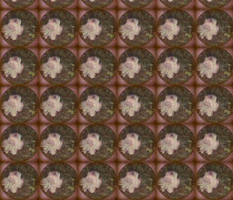 Distressed Fungi Floral Sq fabric by tequila_diamonds on Spoonflower - custom fabric