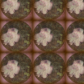 Distressed Fungi Floral Sq
