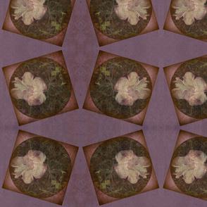 Distressed Fungi Floral block