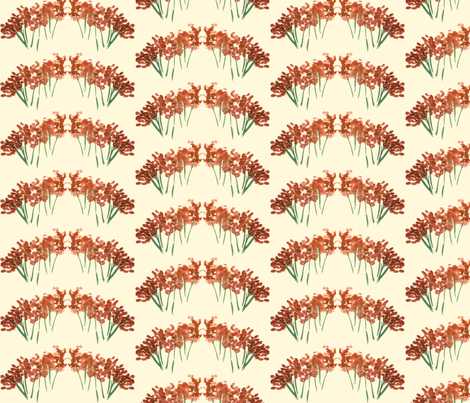 orangeflower-ed fabric by sára_emami on Spoonflower - custom fabric