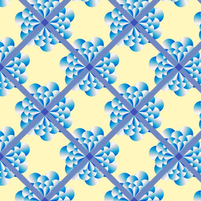 Ribbon Lattice with Petals