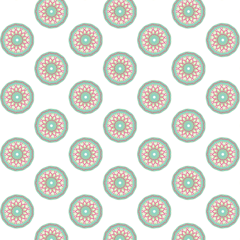 circle fancy fabric by kerryn on Spoonflower - custom fabric