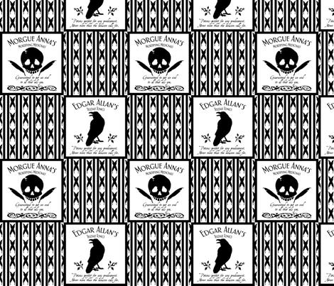 Pick your Poison II fabric by ljonte on Spoonflower - custom fabric
