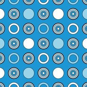 Blue Dots & Hoops
