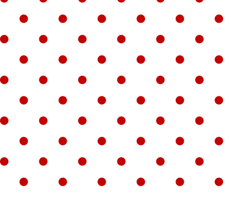 Red Dots fabric by mellymellow on Spoonflower - custom fabric