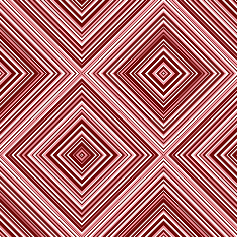 diagonal stripe_carlos_ claret, white, pink fabric by anino on Spoonflower - custom fabric