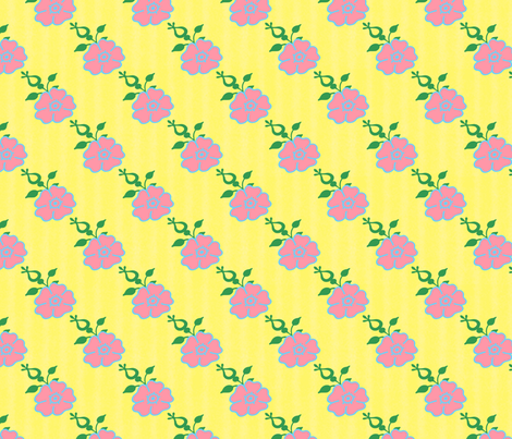 CUTELILBUTTERFLY_FLOWERSANDGARDENS_FABRIC1 fabric by cutelilbutterfly on Spoonflower - custom fabric