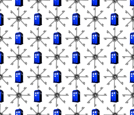 tardis_key fabric by fentonslee on Spoonflower - custom fabric