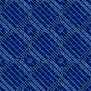 Playful Plaid Blue/Black