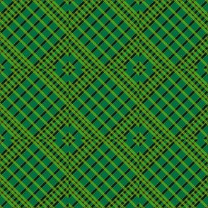 Playful Plaid Green/Black