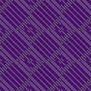 Playful Plaid Purple/Black
