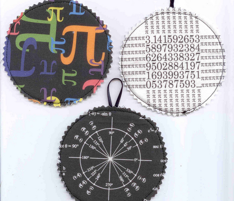 Pieces of Pi (Black)
