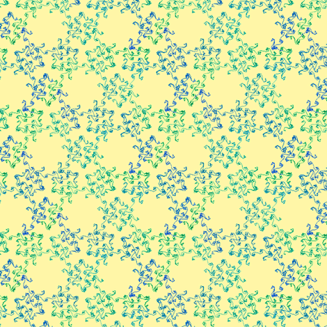 swirls from scratch - ivy fabric by weavingmajor on Spoonflower - custom fabric