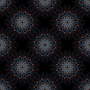 African Pattern Mandala