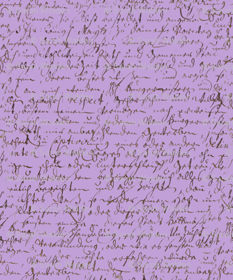 I Thought I'd Write To Juliet... Lavender