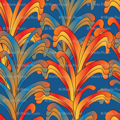 psychedelic Art Nouveau 3