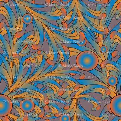 psychedelic Art Nouveau 2