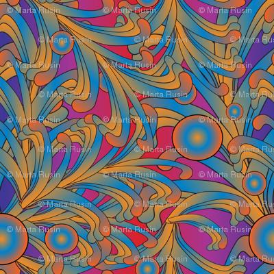 psychedelic Art Nouveau 5