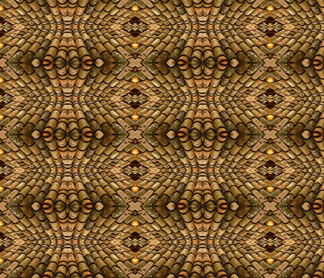 St. Lizard of Assisi fabric by mbsmith on Spoonflower - custom fabric