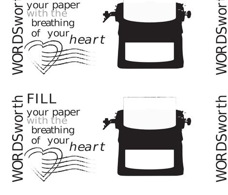 wordsworth fabric by january_ on Spoonflower - custom fabric