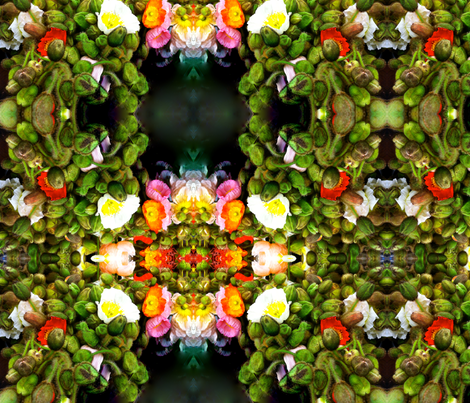 poppy fabric by lldesign on Spoonflower - custom fabric