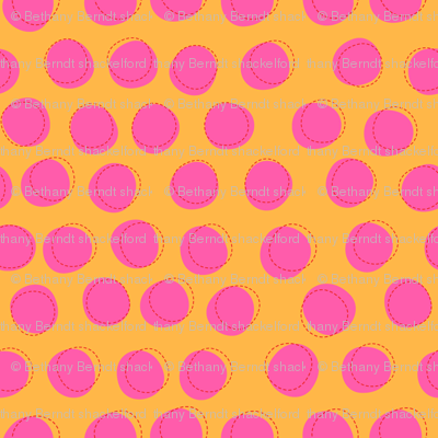 Zig Zag Pet Party Dots 1