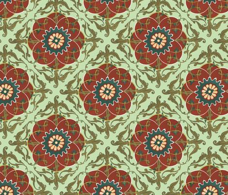 tadjik decoration fabric by unseen_gallery_fabrics on Spoonflower - custom fabric
