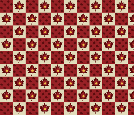 Maple Leaves fabric by arttreedesigns on Spoonflower - custom fabric