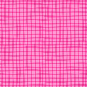 Zig Zag Pet Party pink gingham