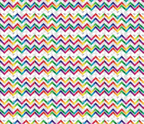 chevron_cheater fabric by mainsail_studio on Spoonflower - custom fabric