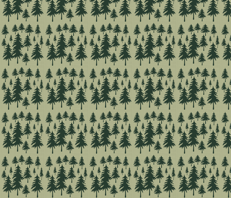Forest fabric by arttreedesigns on Spoonflower - custom fabric