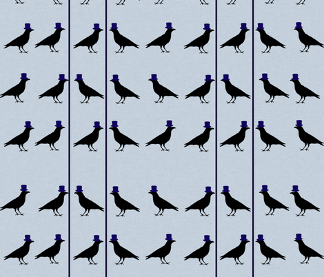 Mister Crow fabric by arts_and_herbs on Spoonflower - custom fabric
