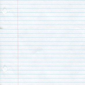 No. 2 notebook paper