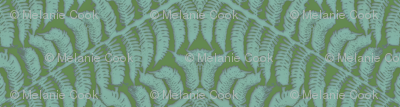 Iced Teal Fern