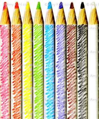 A New Set of Hand-Colored Pencils