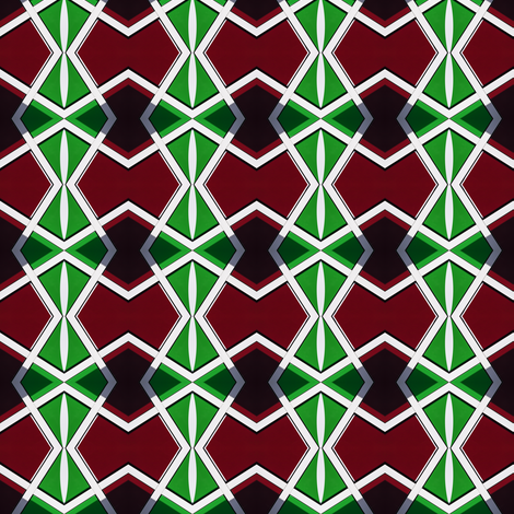 African Pattern fabric by galleryhakon on Spoonflower - custom fabric