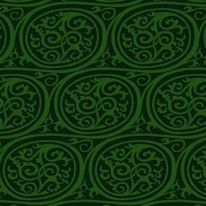 curlyswirl (dark green)