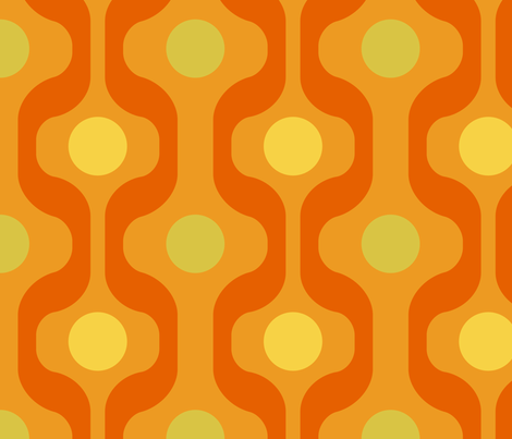 Groovy Baby! fabric by vicky_s on Spoonflower - custom fabric