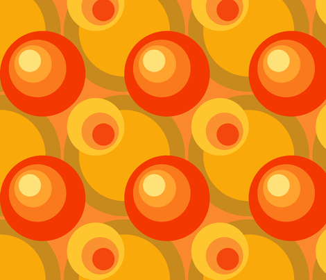 Groovy Baby! 4 fabric by vicky_s on Spoonflower - custom fabric
