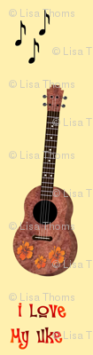 Uke Lover Yellow Background