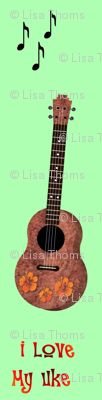 Uke Lover Green Background