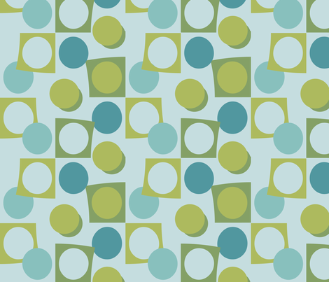 Swell hues, cookie cutter 1 fabric by kittenstitches on Spoonflower - custom fabric