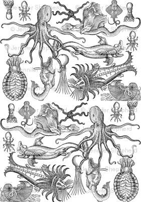 Antique Horrors of the Deep