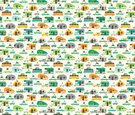 Traveling fabric by stacyiesthsu on Spoonflower - custom fabric