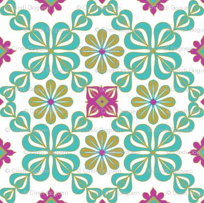 daisy tile
