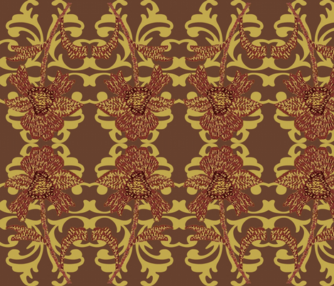 indian spice 3 fabric by paragonstudios on Spoonflower - custom fabric