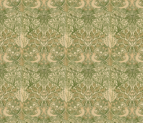 William Morris design fabric by unseen_gallery_fabrics on Spoonflower - custom fabric