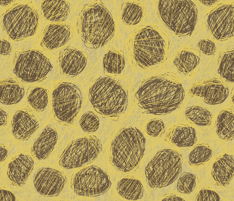 AMBOSELI KENYA GIRAFFE  fabric by bzbdesigner on Spoonflower - custom fabric