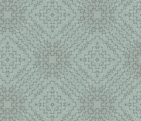 Indigo Linen fabric by feebeedee on Spoonflower - custom fabric
