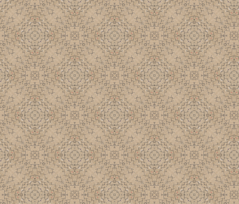 Burlap Tread fabric by feebeedee on Spoonflower - custom fabric